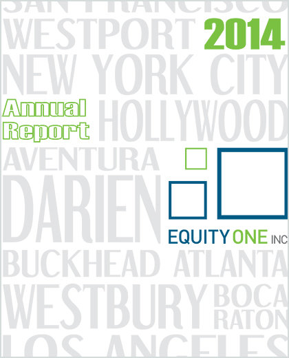 2014 annual report and 10 k 1448042298